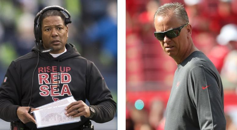 Steve Wolks (L) and Todd Monken (R) are set to join the Cleveland Browns as defensive and offensive coordinators.
