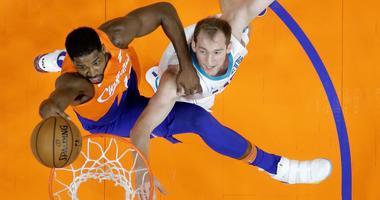 Tristan Thompson Cleveland Cavaliers rebound against Charlotte Hornets