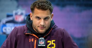 Nick Bosa healthy again, following dad and brother into NFL