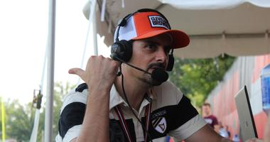 Brad Paisley at Cleveland Browns Training Camp