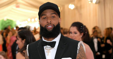 NEW YORK, NEW YORK - MAY 06: Odell Beckham Jr. attends The 2019 Met Gala Celebrating Camp: Notes on Fashion at Metropolitan Museum of Art on May 06, 2019 in New York City. (Photo by Neilson Barnard/Getty Images)