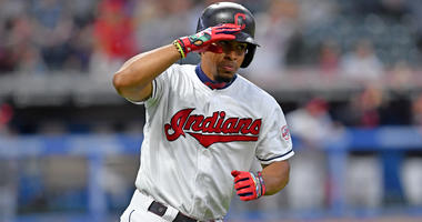 CLEVELAND, OHIO - JUNE 04: Francisco Lindor #12 of the Cleveland Indians celebrates as he rounds the bases after hitting a two run home run during the fifth inning against the Minnesota Twins at Progressive Field on June 04, 2019 in Cleveland, Ohio. (Phot