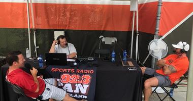 Ian Rapoport of NFL Network joins Bull and Fox at Browns Training Camp