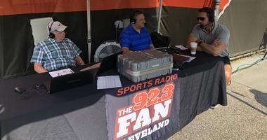 Tim Couch joins Andy Baskin and Jeff Phelps at Browns training camp.