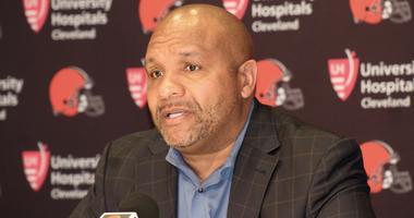 Browns head coach Hue Jackson wraps up the 2018 NFL Draft