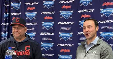 Chris Antonetti and Terry Francona