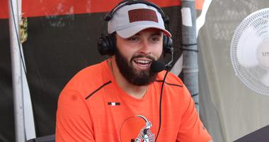 Browns quarterback Baker Mayfield joins Bull and Fox on 92.3 The Fan on Aug. 15, 2018