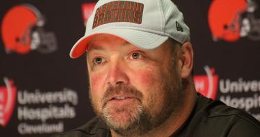 Freddie Kitchens Cleveland Browns offensive coordinator