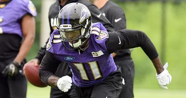 Breshad Perriman Cleveland Browns sign former Baltimore Ravens receiver