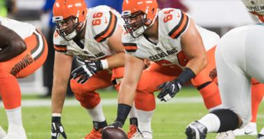 JC Tretter of the Cleveland Browns