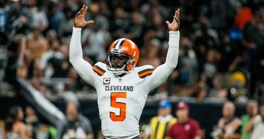 Cleveland Browns Tyrod Taylor New Orleans Saints