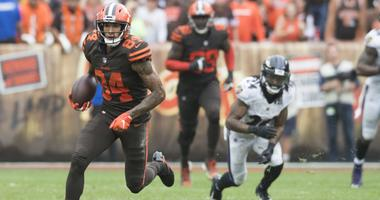 Derrick Willies Cleveland Browns Baltimore Ravens overtime catch