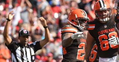 Nick Chubb Cleveland Browns score touchdown against Tampa Bay Buccaneers