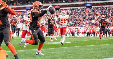 Duke Johnson scored touchdown against Kansas City Chiefs for Cleveland Browns