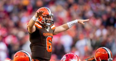 Cleveland Browns quarterback Baker Mayfield (6)