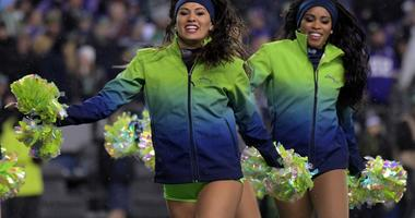 Dec 10, 2018; Seattle, WA, USA; Seattle Seahawks sea gals cheerleaders before the game against the Minnesota Vikings at CenturyLink Field. Mandatory Credit: Kirby Lee-USA TODAY Sports