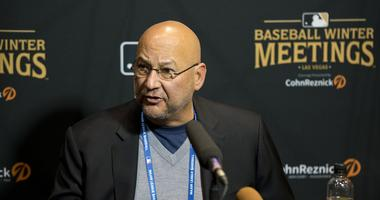 Dec 12, 2018; Las Vegas, NV, USA; Cleveland Indians manager Terry Francona talks to the media during the MLB Winter Meetings at the Mandalay Bay Convention Center. Mandatory Credit: Daniel Clark-USA TODAY Sports