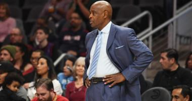 Dec 29, 2018; Atlanta, GA, USA; Cleveland Cavaliers head coach Larry Drew during the first quarter at State Farm Arena against the Atlanta Hawks. Mandatory Credit: Adam Hagy-USA TODAY Sports