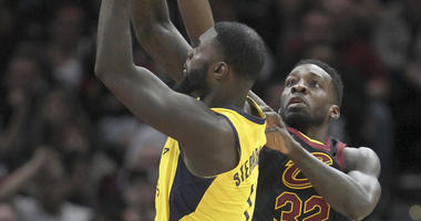 Cleveland Cavaliers Indiana Pacers Jeff Green Lance Stephenson
