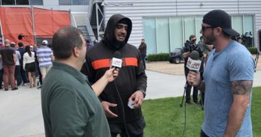 Browns DE Olivier Vernon: Whatever was done last year doesn't mean anything