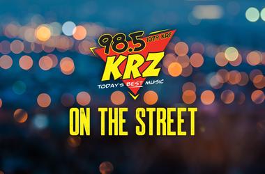 KRZ on the street