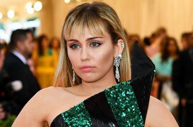 Miley Cyrus at The Met Gala