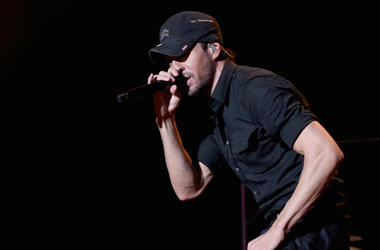 WANTAGH, NY - JUNE 16: Enrique Iglesias performs at 103.5 KTU's KTUphoria on June 16, 2018 in Wantagh City.