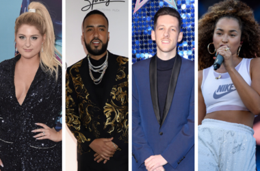 "Meghan Trainor ""Teen Choice 2018"". French Montana Jennifer ''Dinero'' Bruce Fielder Sigala. Ella Eyre."