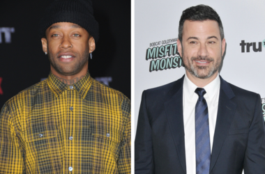 "13 December 2017 - Westwood, California - Ty Dolla Sign. Netflix's ""Bright"" Los Angeles Premiere held at Regency Village Theatre in Westwood. / Jimmy Kimmel arrives at the truTV's ""Bobcat Goldthwait's Misfits & Monsters"" Premiere held at The Hollywood"