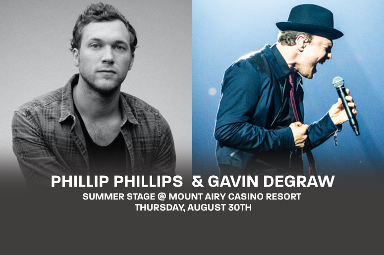 Phillip Phillips Gavin DeGraw