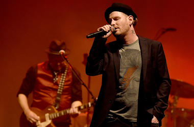 Singer Corey Taylor performs at Celebrating David Bowie at the Wiltern Theatre on January 24, 2017 in Los Angeles, California