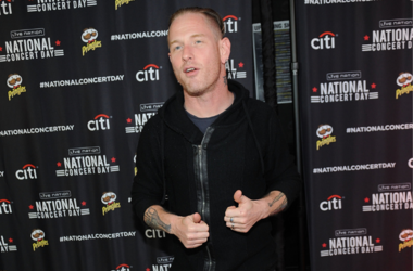Musician Corey Taylor of the music group Slipknot attends 2nd Annual National Concert Day Show at Irving Plaza on May 3, 2016 in New York City