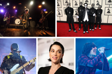 Greta Van Fleet, GHOST, Twenty One Pilots, St. Vincent, Bring Me The Horizon