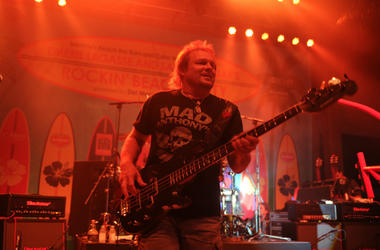 Michael Anthony performs in 2014