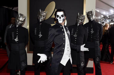 Ghost arrives at the GRAMMYs