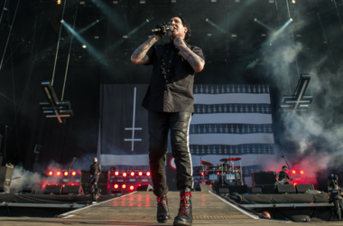 Marilyn Manson performs live on stage on day 3 of Download Festival at Donington Park