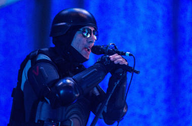 Maynard James Keenan of Tool performs at the Giant Center