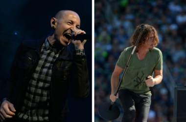 Chester Bennington of Linkin Park and Chris Cornell of Soundgarden
