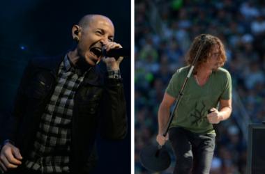 Chester Bennington of Linkin Park and Chris Cornell of Soundgarden