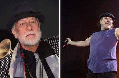 Mick Fleetwood and Brian Johnson