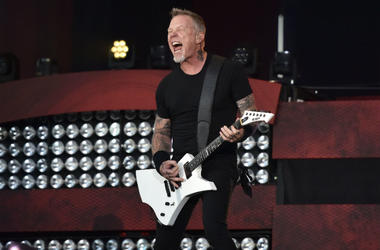 James Hetfield of Metallica