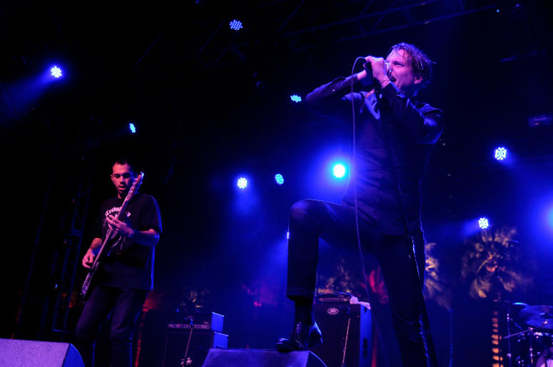 Deafheaven performs during the 2016 Coachella Valley Music & Arts Festival