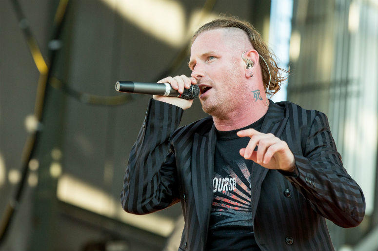 Corey Taylor of Stone Sour during Chicago Open Air Music Festival