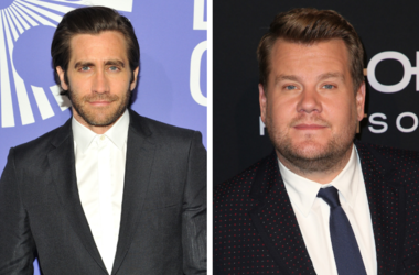 Jake Gyllenhaal and James Corden