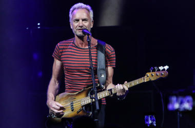 Sting performs during the Sting & Shaggy: The 44/876 Tour at Fillmore Miami Beach on September 15, 2018