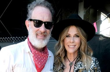 Tom Hanks and Rita Wilson attend the 2019 Stagecoach Festival