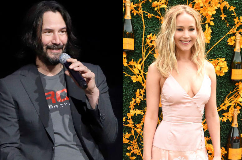 Keanu Reeves, Jennifer Lawrence and More Big Stars Filming in New
