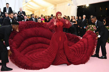 Cardi B attends The 2019 Met Gala Celebrating Camp: Notes on Fashion at Metropolitan Museum of Art on May 06, 2019 in New York City