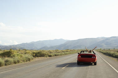Most of us prefer road trips over trains or planes