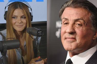 Maria Menounos, Sylvester Stallone